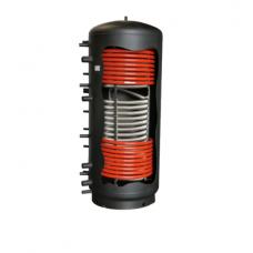 Kombinovaná akumulačná nádrž Galmet 1000 l s jedným nerezovým výmenníkom a dvoma oceľovými výmenníkmi - Multi Inox
