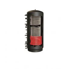 Kombinovaná akumulačná nádrž Galmet 600 l s jedným nerezovým výmenníkom a jedným oceľovým výmenníkom - Multi Inox