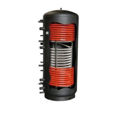 Kombinovaná akumulačná nádrž Galmet 600 l s jedným nerezovým výmenníkom a dvoma oceľovými výmenníkmi - Multi Inox