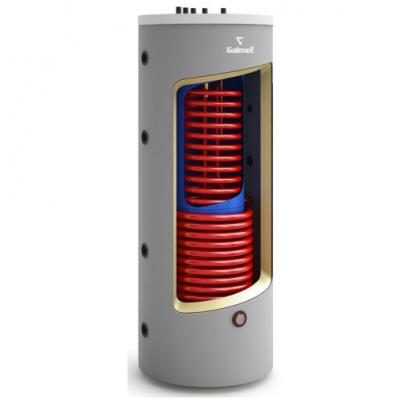 Kombinovaná akumulačná nádrž Galmet so zásobníkom 380/120  l s dvoma výmenníkmi