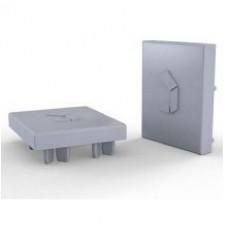 Krytka hliníkových profilov 41x35 mm