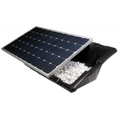 Plastová vanička pre fotovoltické panely - uhol 15°