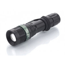 Solight kovové svietidlo, 3W CREE LED, čierne, fokus, 3x AAA