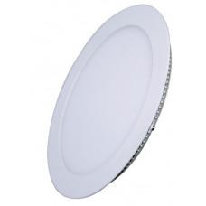 Solight LED mini panel, podhľadový, 6W, 400lm, 3000K, tenký, okrúhly, biely