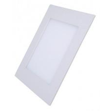 Solight LED mini panel, podhľadový, 12W, 900lm, 4000K, tenký, štvorcový, biely