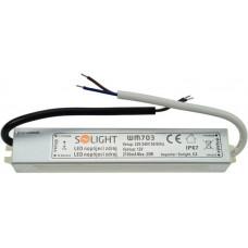 Solight LED napájací zdroj, 230V - 12V, 2.1A, 25W, IP65