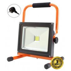 Solight LED vonkajší reflektor so stojanom, 30W, 2400lm, kábel so zástrčkou, AC 230V