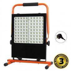 Solight LED vonkajší reflektor so stojanom, 100W, 8500lm, kábel so zástrčkou, AC 230V