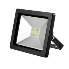 Solight LED vonkajší reflektor SLIM, 20W, 1400lm, 3000K, čierny