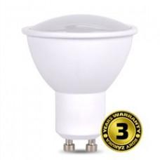 Solight LED žiarovka, bodová , 5W, GU10, 4000K, 400lm, biela