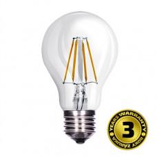 Solight LED žiarovka retro, klasický tvar, 8W, E27, 3000K, 360°, 810lm