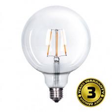 Solight LED žiarovka retro, Globe G125, 8W, E27, 3000K, 360°, 810lm