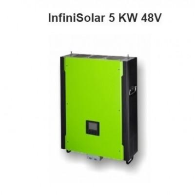 Hybridný fotovoltický menič InfiniSolar Plus 5KW, 1 fáza