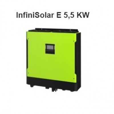 Hybridný fotovoltický menič InfiniSolar 5.5 E, 1 fáza