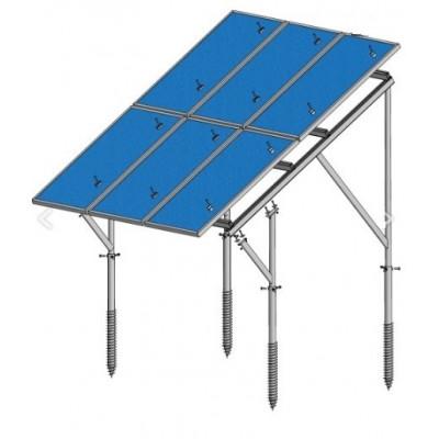 Pozemná nosná konštrukcia pre fotovoltické panely