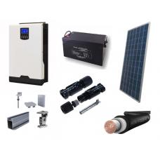 Fotovoltický systém OFFGRID o výkone 560 W, batéria 2,14 kWh