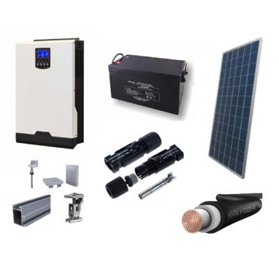 Fotovoltický systém OFFGRID o výkone 1120 W, batéria 4,28 kWh