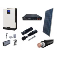 Fotovoltický systém OFFGRID o výkone 1680 W, batéria 2,4 kWh