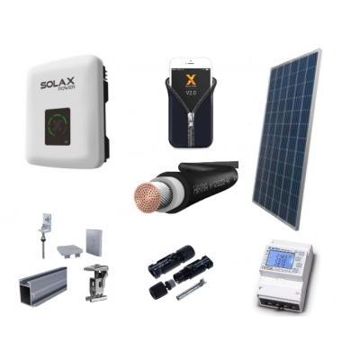 Fotovoltický systém ONGRID výkon 3 kW, 1 fáza